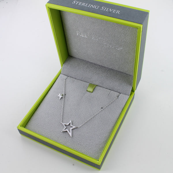 Duet Star Necklace