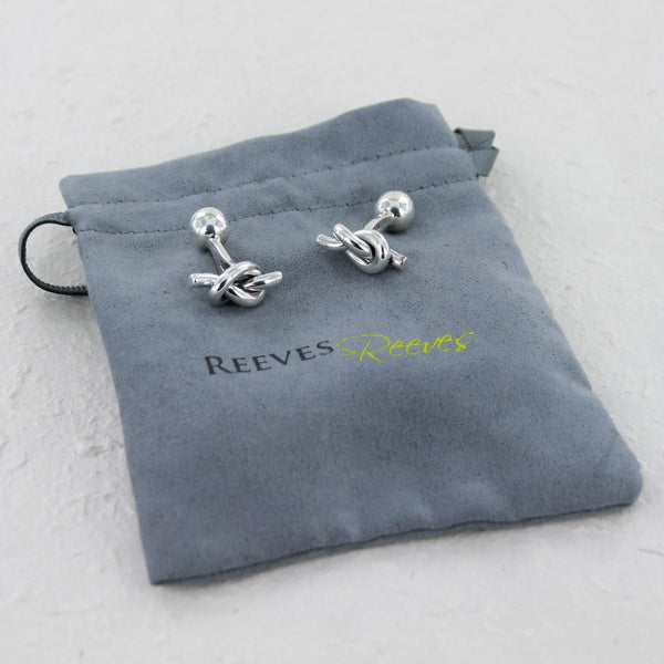 Nautical Knot Cufflinks
