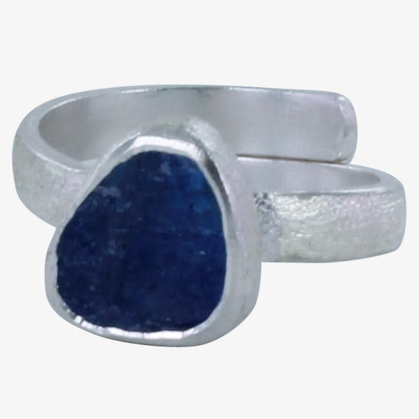 Rough Stone Tanzanite Ring