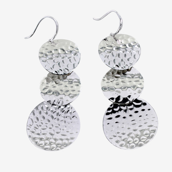 Three Coins Earrings