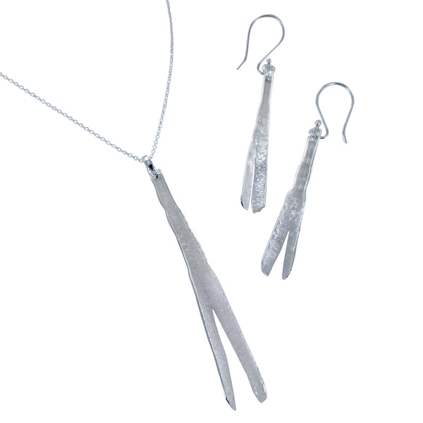 Long Bark Earrings