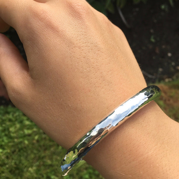 Beauty Bangle Hammered- Medium