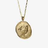 Owl Coin Necklace