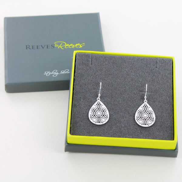 Honiton Lace Earring