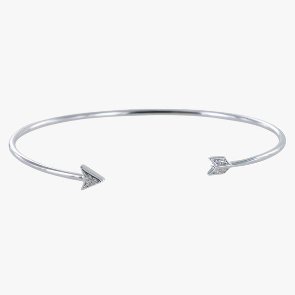 Arrow Pavé Cuff Bracelet