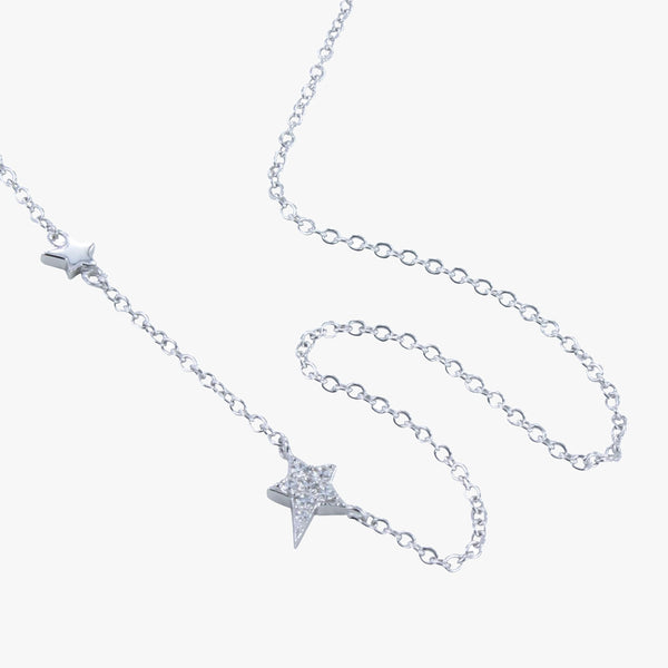 Starry Night Pavé Necklace