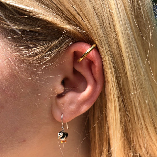 Single Sterling Silver Ear Cuff