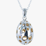 Pebble Egg Necklace
