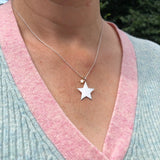 Personalise Star Necklace
