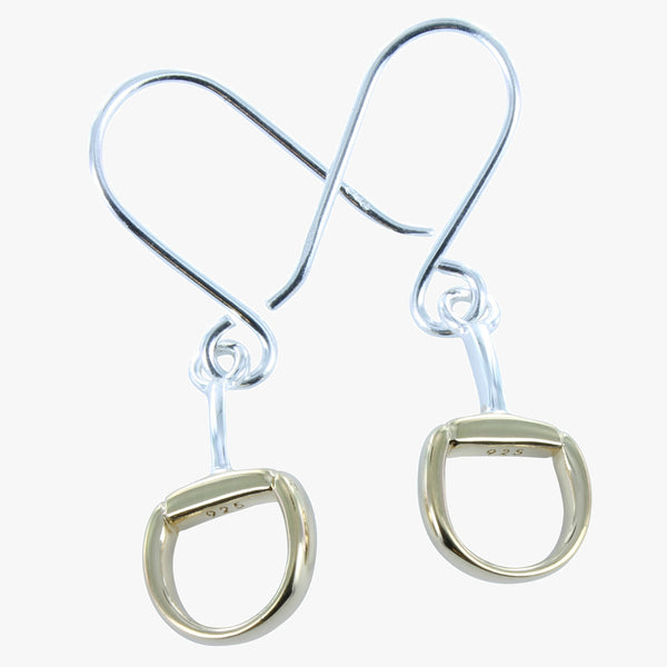 Snaffle Dangly Earrings