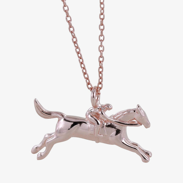 Racing Horse Necklace