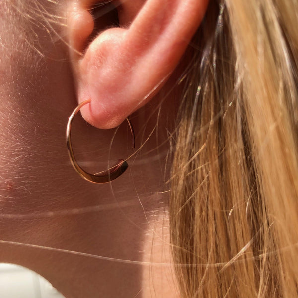 Farrier Nail Hoop Earrings