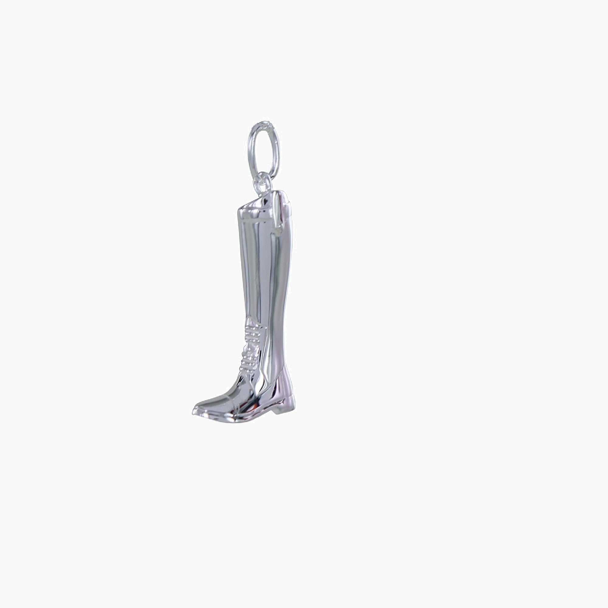 Large Sterling Silver Riding Boot Charm
