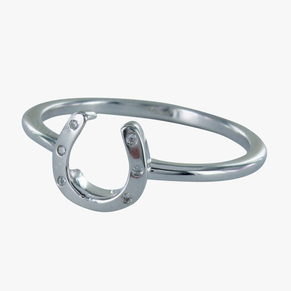 Pavé Horseshoe Ring