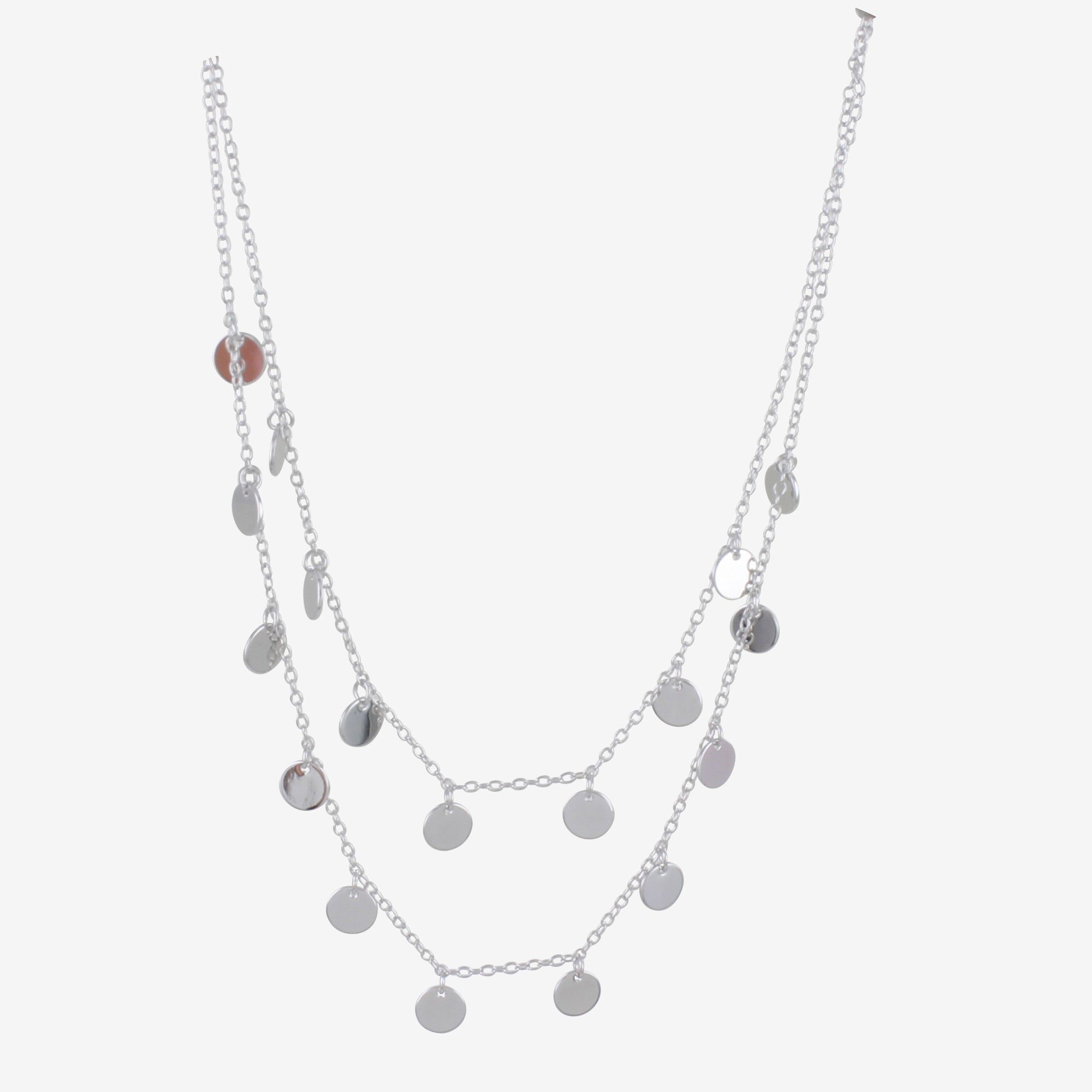 2 Layer Dot Necklace