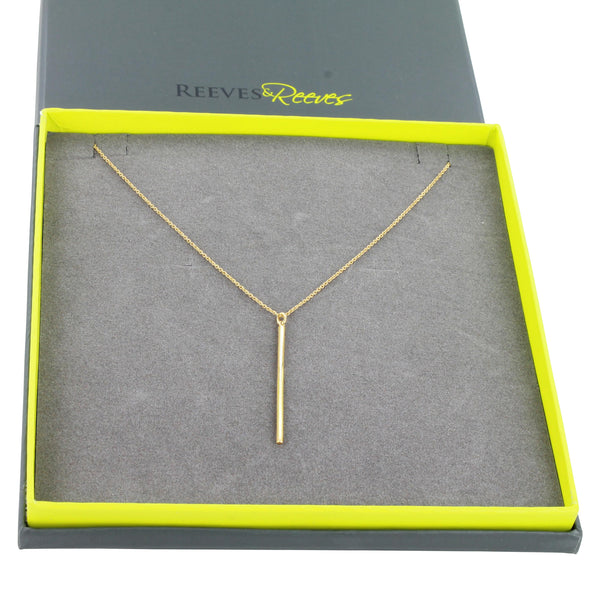 Long Line Necklace