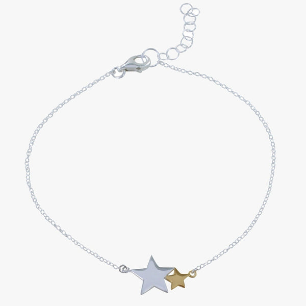 Seeing Star Sterling Silver Bracelet