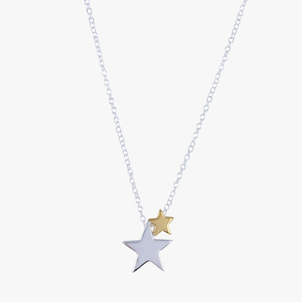 Seeing Stars Sterling Silver Necklace
