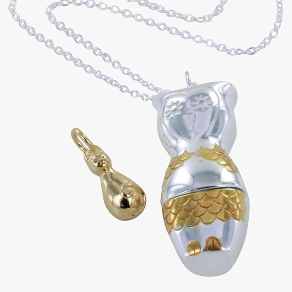 Owl And The Pussy Cat Necklace