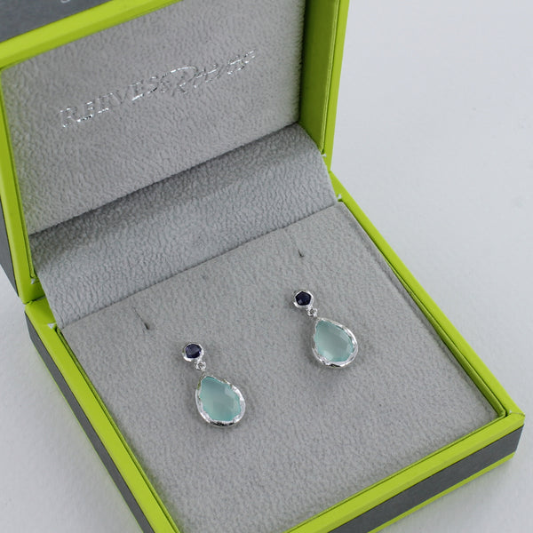 Moulin Silver Drop Earrings
