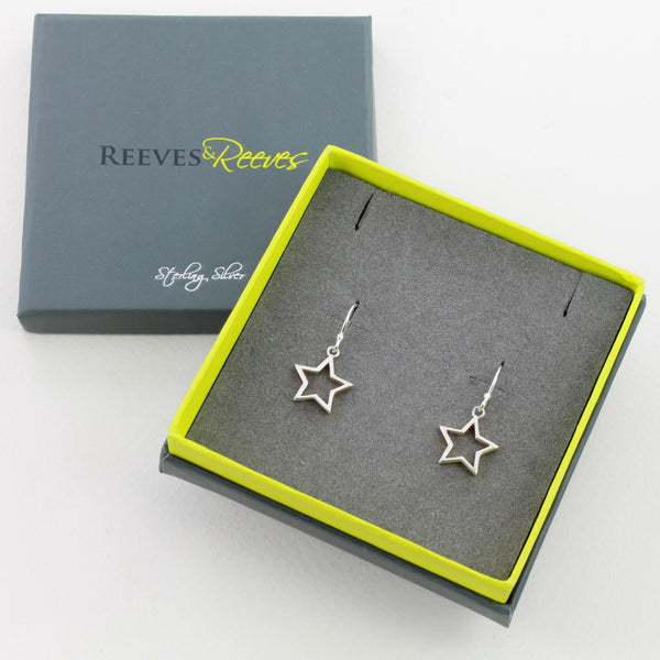 Shadow Star Earrings