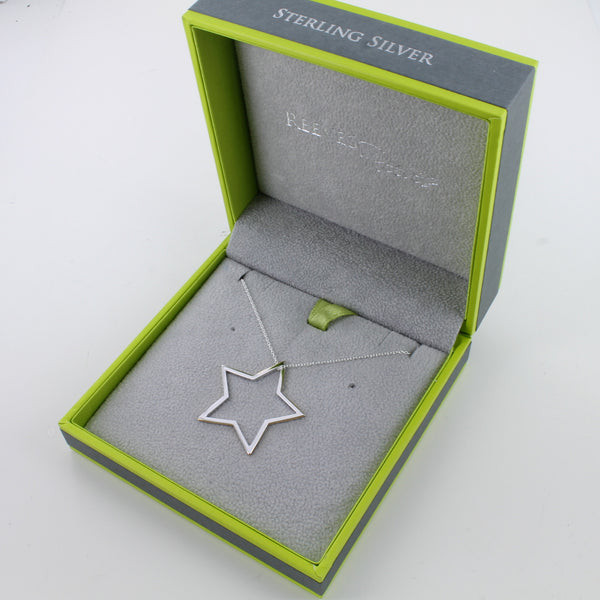 Shadow Star Necklace