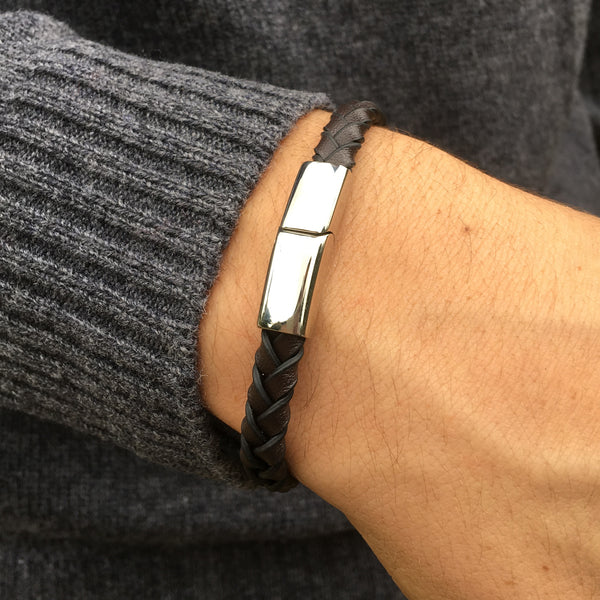 Edge Leather Bracelet