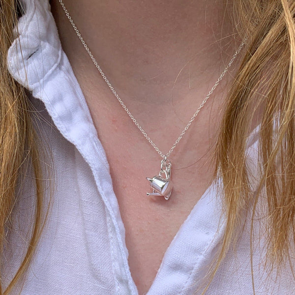 Sterling Silver Garden Charm Necklace