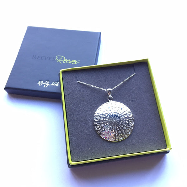 Sea Urchin Pendant Necklace