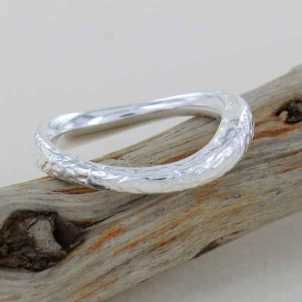 Sterling Silver Driftwood Ring