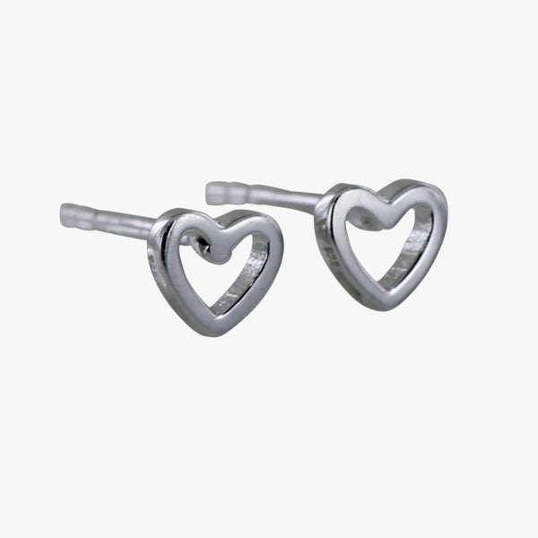 Hearts Desire Open Stud Earrings