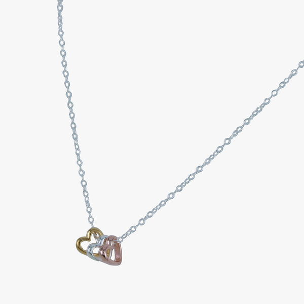 Amoré Trio Heart Necklace