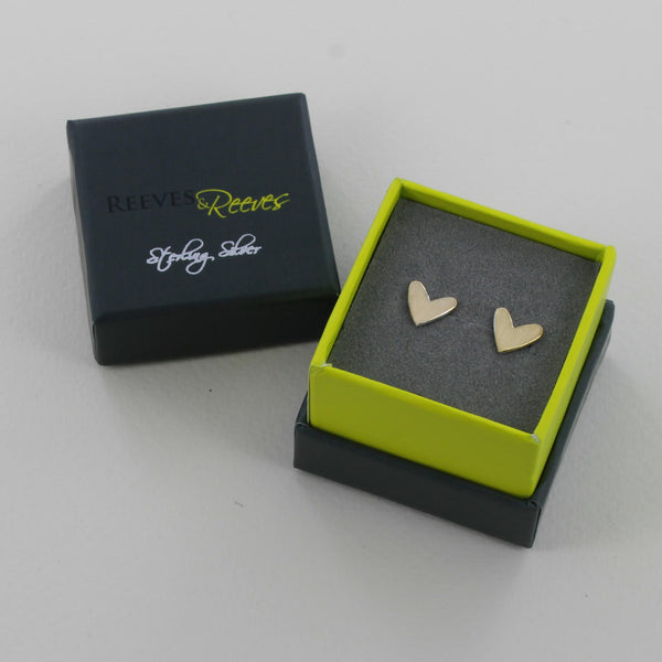 Cariad Stud Earrings