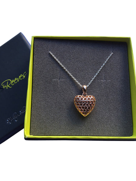 Filigree Heart Necklace