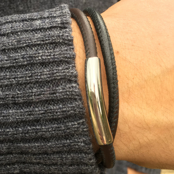 Nappa Double Leather Bracelet