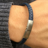 Odd Job Leather Bracelet