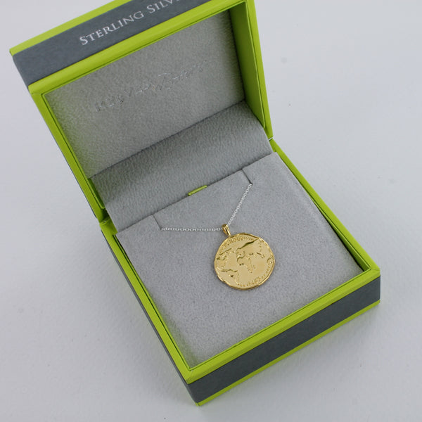World Coin Necklace