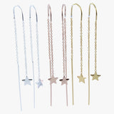 Star Finesse Drop Earring