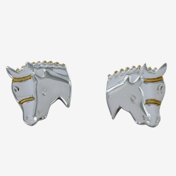 Mare and Foal Head Studs