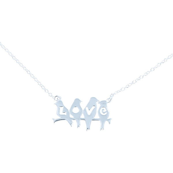 L.O.V.E Bird Necklace