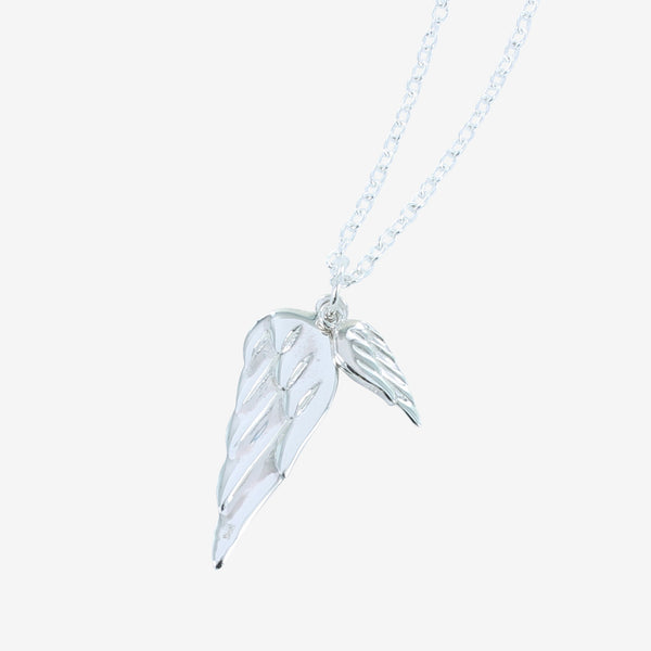 Mens Angel Wings Necklace