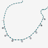 Turquoise Dotty Necklace