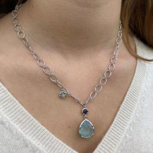 Moulin Silver Necklace
