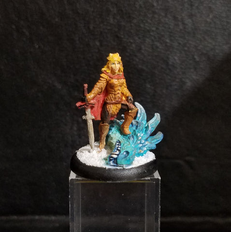 Janan, Female Dragon Slayer (The Fire Who Beat Winter) [PAINTED]