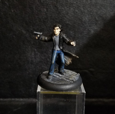 Deadlands Noir: Grifter (The Connection) [PAINTED, MODDED]