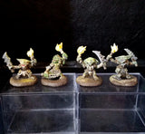 Goblin Pyros [4] (The Fiery Crew of the Caves) [PAINTED]