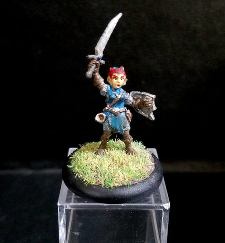Elliwyn Heatherlark, Gnome Bard (The Halfling of Water and Fire) [PAINTED]
