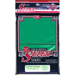 KMC Sleeves Standard Super 80ct Green
