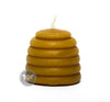 1.5 Inch Beehive Skep Beeswax Candle