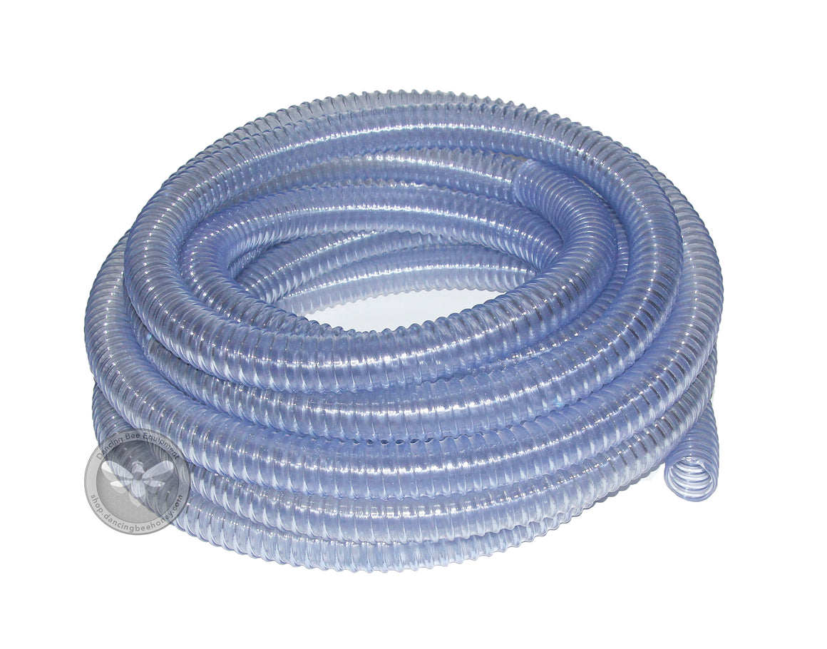 "1 1/2"" Clear Suction Flex Hose <br> Per Foot"